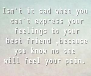 friend, sad, and never mind image