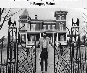 homes, horror, and mansion image