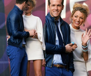 blake lively, ryan reynolds, and gossip girl image