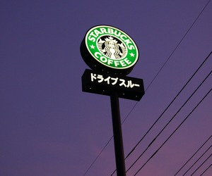 starbucks, coffee, and japan image
