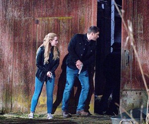 couple, cw, and dean winchester image