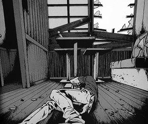 alone and manga image