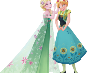anna, frozen fever, and disney image