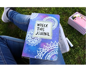 quality, tumblr, and wreck this journal image