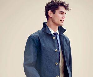 boy, coat, and hair image