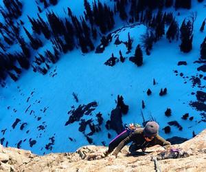 adventure, climbing, and explore image