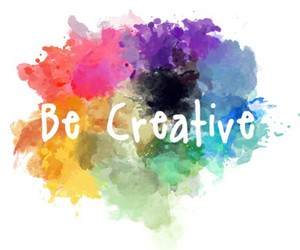 creative, be, and text image