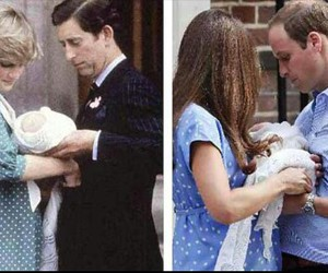 baby, kate, and william image