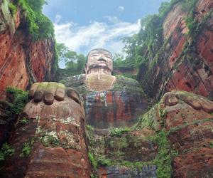 Buddha, china, and nature image