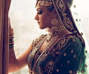 girl, indian, and style image