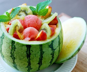 fit, melon, and food image