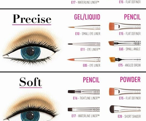 makeup, eyeliner, and tips image