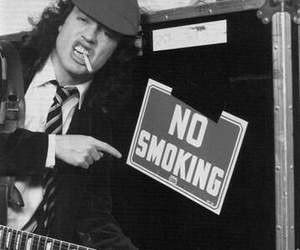 ac dc, angus young, and rock image