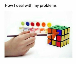 problem, funny, and lol image