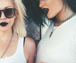 kylie jenner, black, and style image