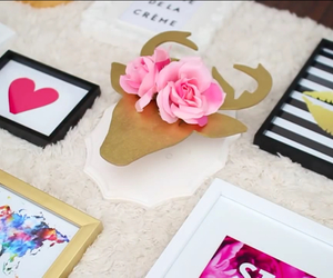 crafts, flowers, and michaels image