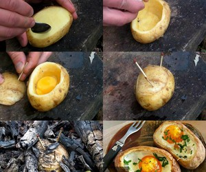 eggs, gorgeous, and potatoes image