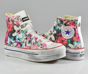 all star, platform, and converse image