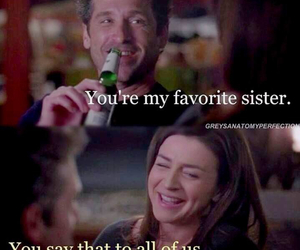 greys anatomy, derek shepherd, and sister and brother image