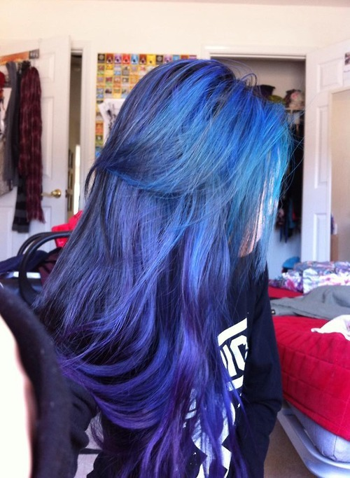 19 Dyed Hair Tumblr On We Heart It