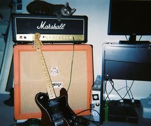 grunge, guitar, and music image