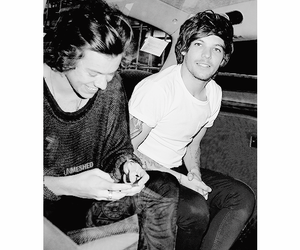 larry stylinson, Harry Styles, and one direction image