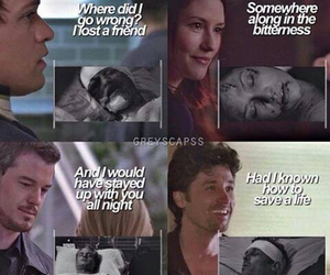 grey's anatomy, mark sloan, and derek shepherd image