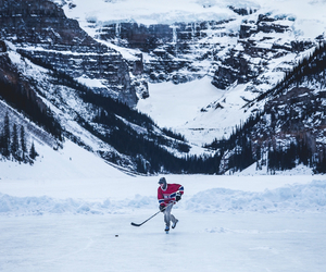 beautiful, canada, and hockey image