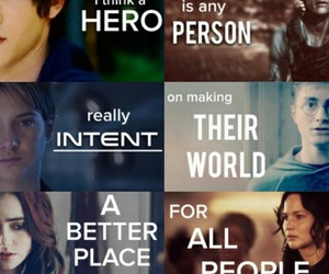 harry potter, movies, and the hunger games image