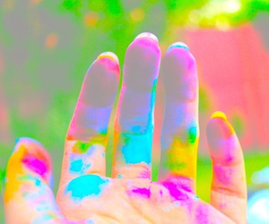 paint hand image