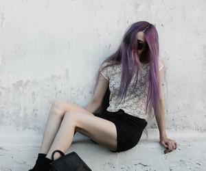 grunge, hair, and girl image