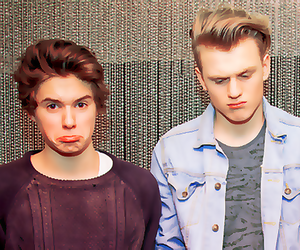 thevamps, tristan evans, and james mcvey image