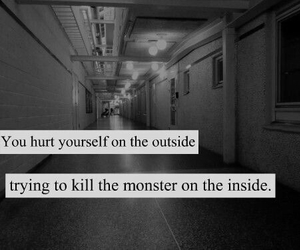 monster, hurt, and quotes image