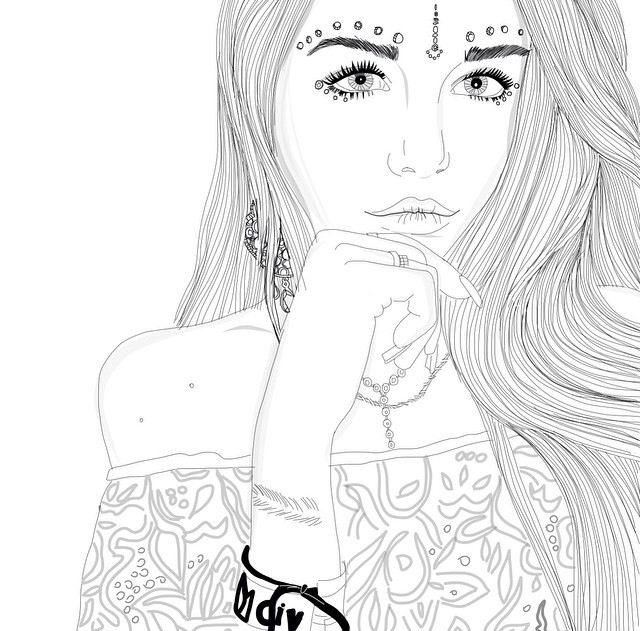 50 Images About Girl On We Heart It See More About Draw Art And