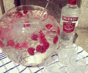 vodka, drink, and smirnoff image