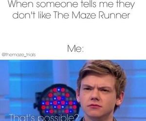 newt, maze runner, and books image