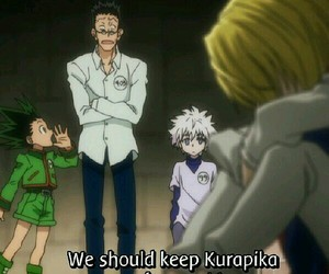 hunter x hunter and kurapika image