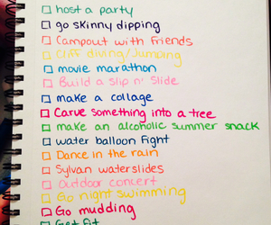 summer, to do list, and 2015 image