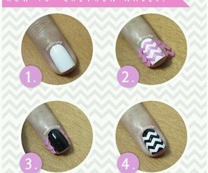 chevron, diy, and how to image