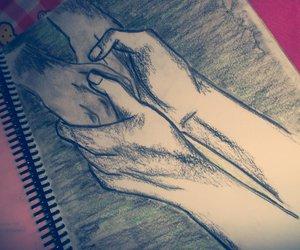 art, drawing, and my drawing image