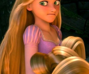 rapunzel and cute image