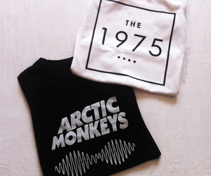 the 1975, arctic monkeys, and grunge image