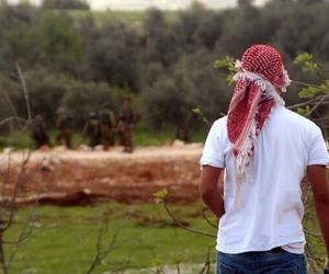 palestine, فلسطين, and silwad image