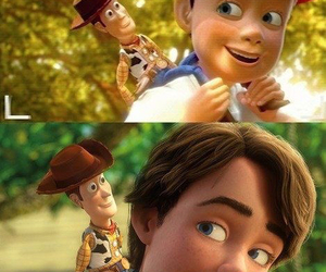 andy, disney, and toy story image