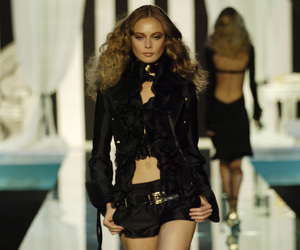 fashion, Inguna Butane, and Roberto Cavalli image