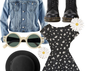 dr martens and flowers image