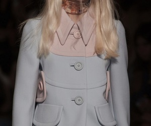 blonde, fashion, and miu miu image