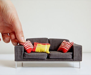 sofa, furniture, and mini image