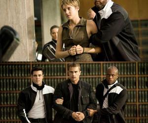 four, Shailene Woodley, and insurgent image