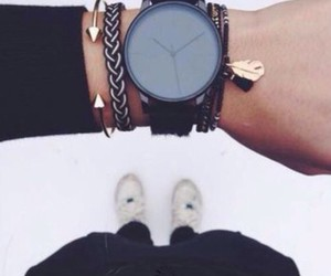 bracelet, summer, and watches image